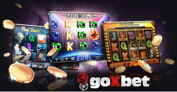 Десятки видов азартных слотов в казино Goxbet