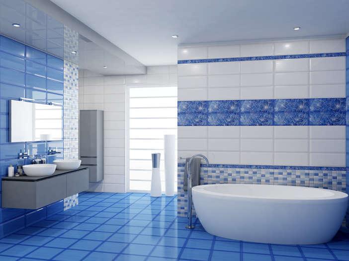 Коллекция стильной плитки KERLIFE для ванных комнат