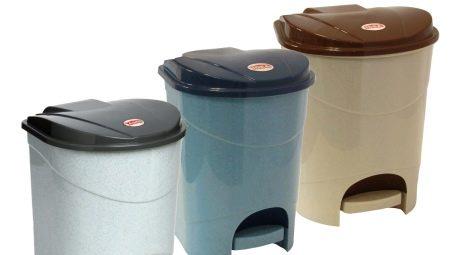 Низкие цены на мусорные ведра от магазина Plastic-Shop